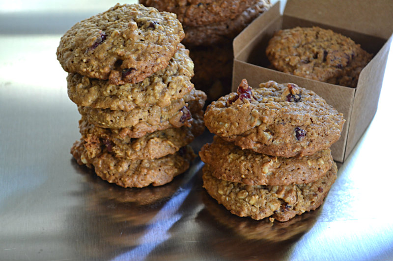 Molasses Oatmeal Cranberry Cookies
