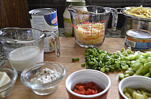 Ingredients for the Dish