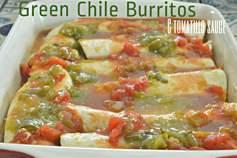 Burritos, Enchiladas. and Tomatillo Sauce