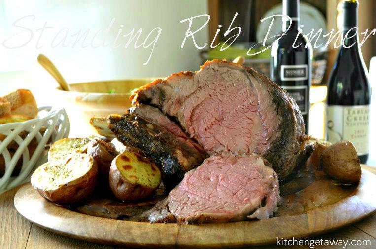 Standing Rib Roast Dinner