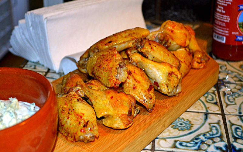 Chicken Wings Portuguese Style