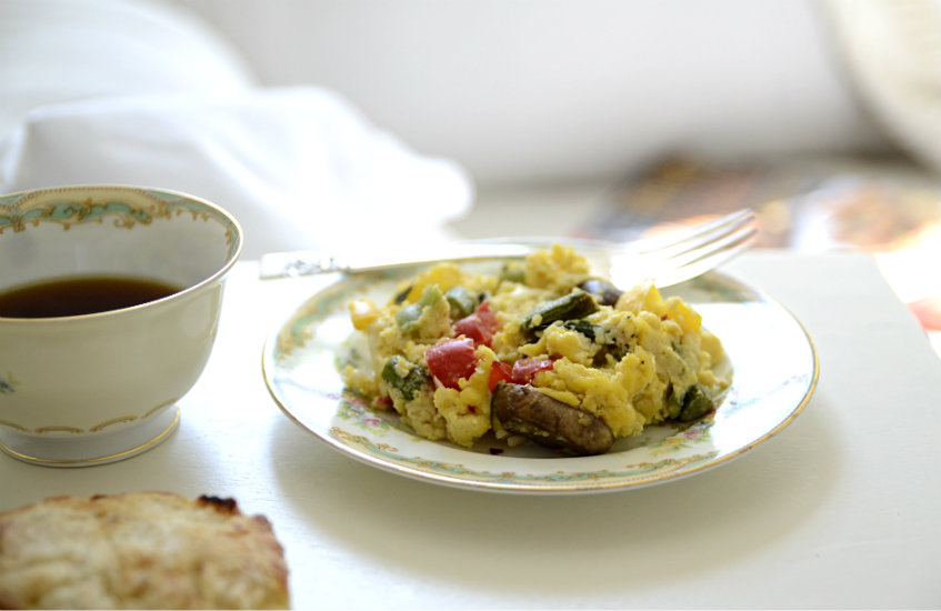 Italian Scramble Onion Biscuits