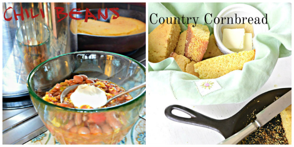 Chili Beans Country Cornbread