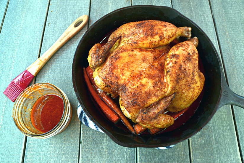Portuguese Piri Piri Roasted Chicken