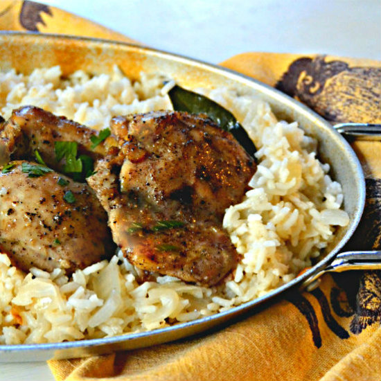 portuguese marinated chicken