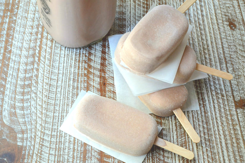 Fudge Pops and Chocolate Frosties