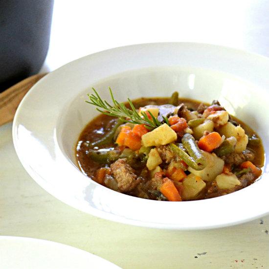 30 Minute Beef Stew