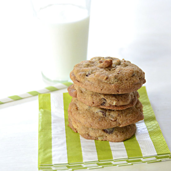 Quick Mix Chocolate Chip Cookies