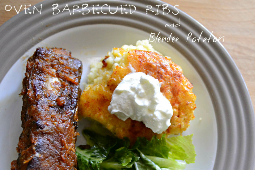 Oven Barbecued Ribs