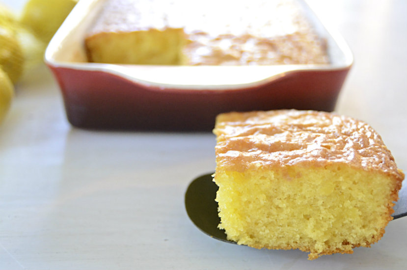 Lemon Glaze Cake