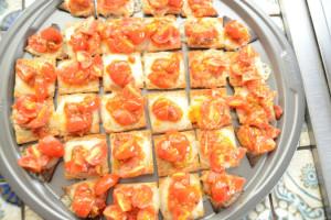 Triscuit Pizza