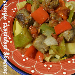 Sausage Peppers Onions