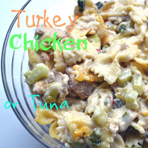 Tuna, Chicken or Turkey Casserole