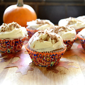 Spicy Pumpkin Cupcakes