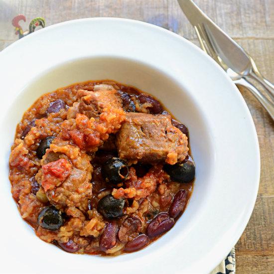 Pork Casserole Portuguese Style