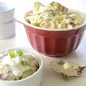 Sour Cream and Onion Potato Salad