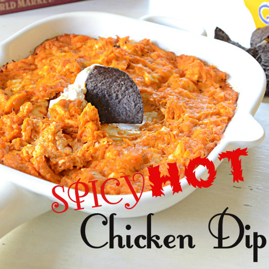 Spicy Hot Chicken Dip