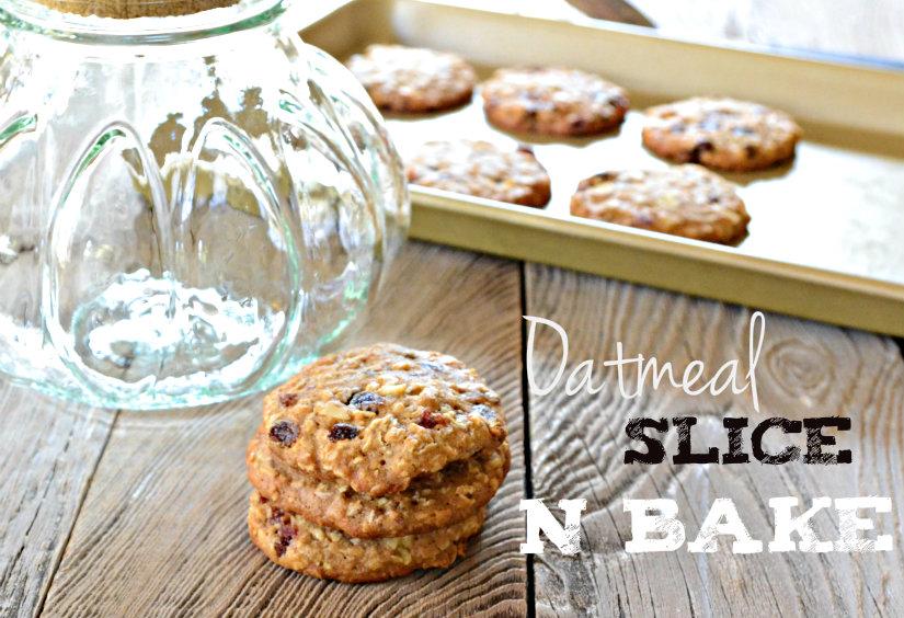 Slice N Bake Oatmeal Cookies
