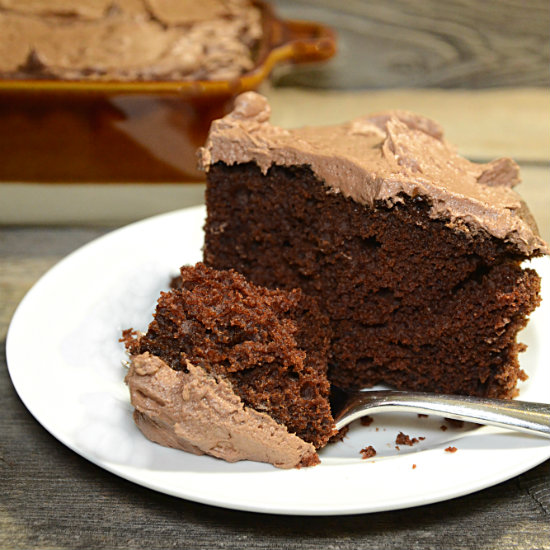 devil s food cake with milk chocolate frosting devil s food cake ...