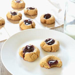 Thumbprint Cookies