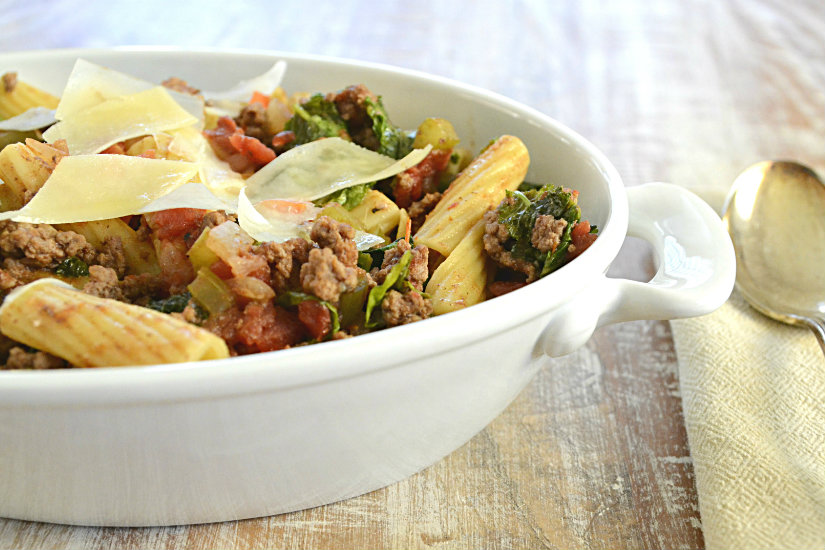 Beef Ragu with Kale