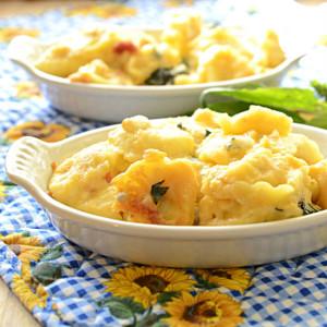 Tortellini Mac N Cheese