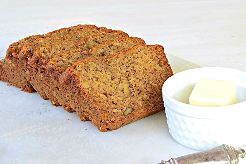 Whole Wheat and Honey Banana Bread