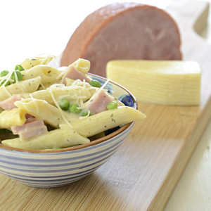 Ranch-style Pasta and Ham