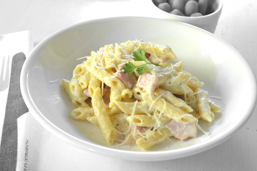 Ranch Style Pasta and Ham