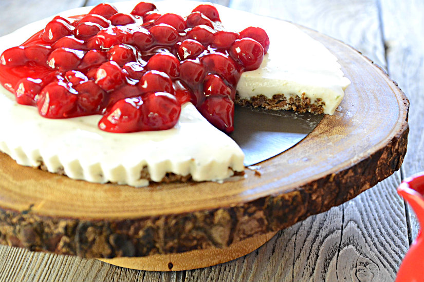 No Cheese No Bake Cheesecake