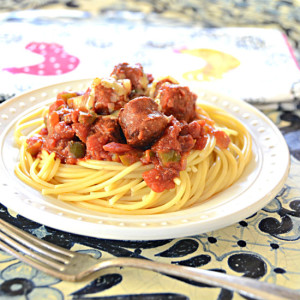 Portuguese Style Cowboy Spaghetti