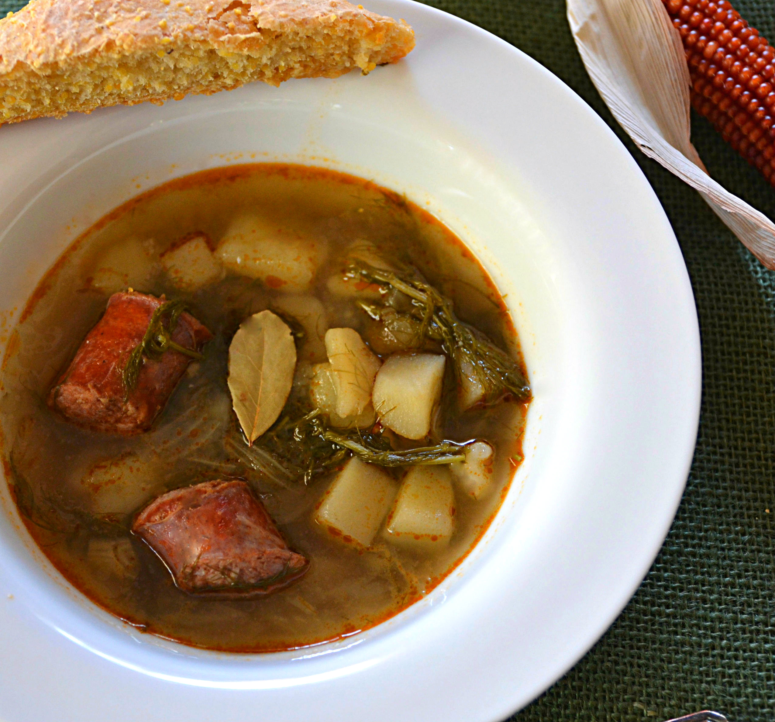 Rustic Anise Soup
