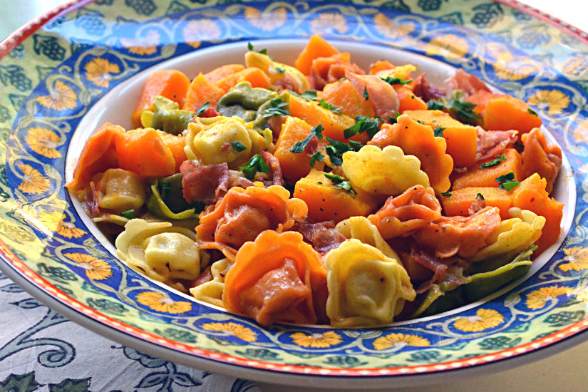 Tortellini and Butternut Squash
