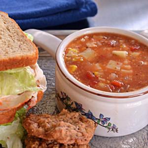 Tomato Corn Cheese Soup
