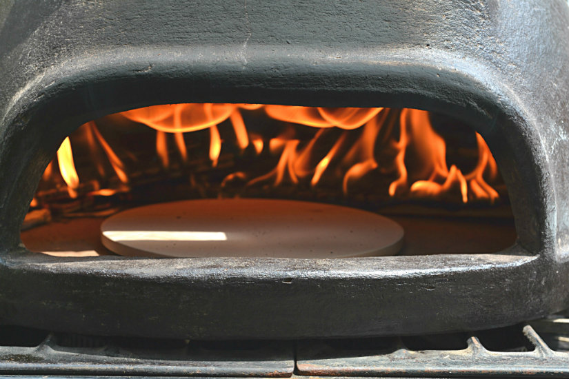 Wood Stove Pizza