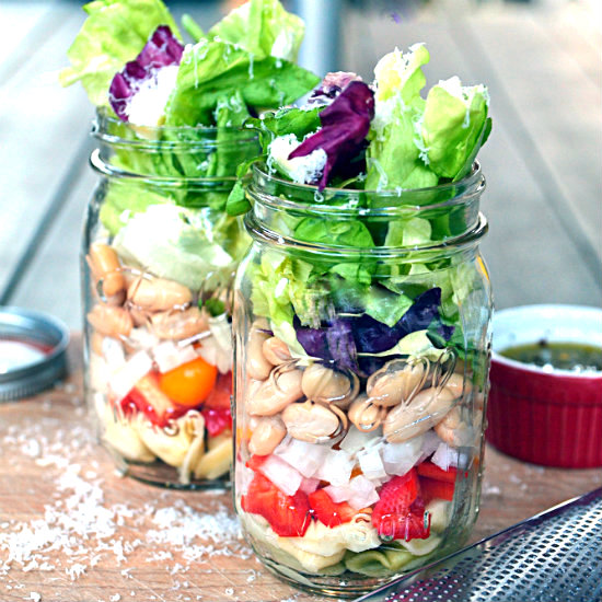Italian Salad in a Jar