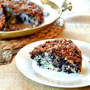 Blueberry Streusel