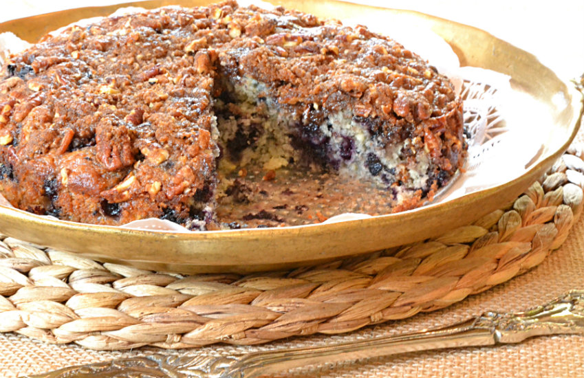 Blueberry Streusel