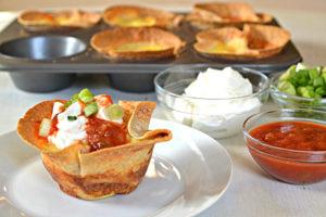 Tortilla Mini Quiches