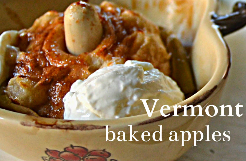 Vermont Baked Apples