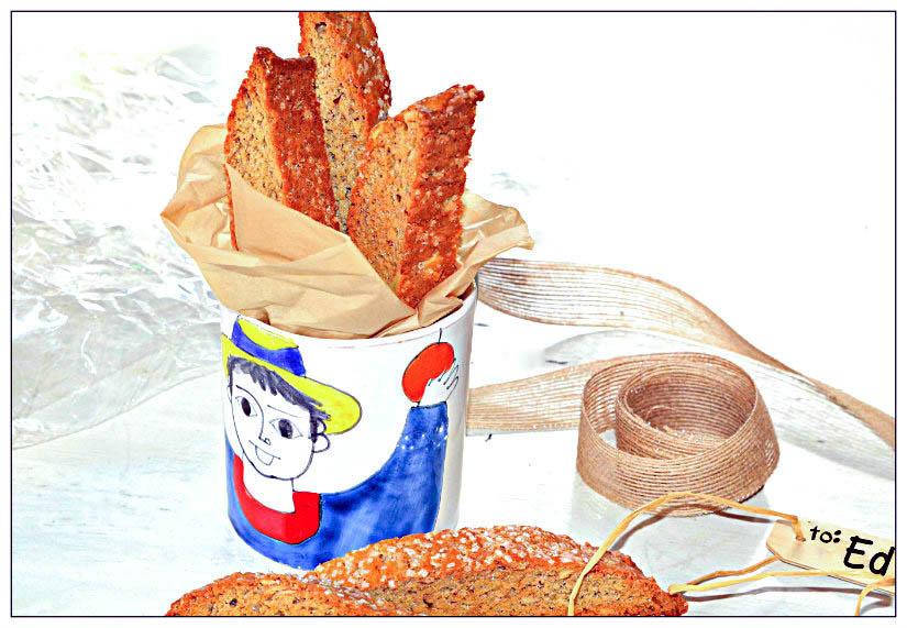 Chai Spice Almond Biscotti