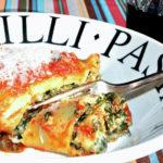 Meat or Meatless Lasagna Rolls