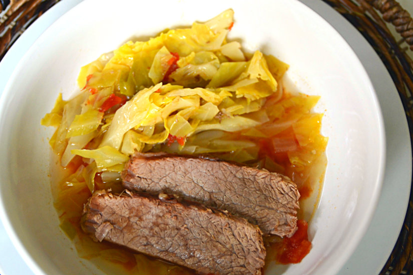 Brisket and Cabbage