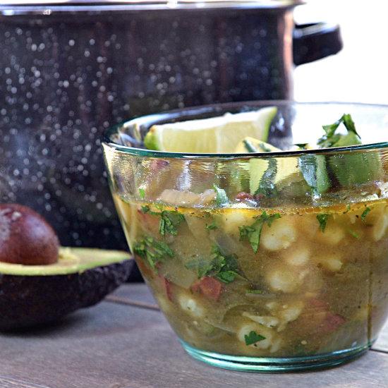 Pozole Verde Soup