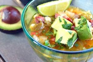 Pozole Verde Soup Portuguese Style