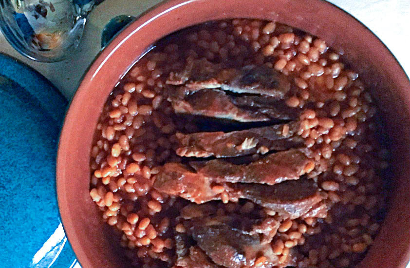 Portuguese Pork and Beans